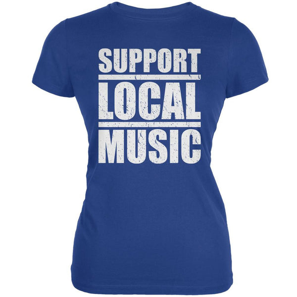 Support Local Music Royal Juniors Soft T-Shirt
