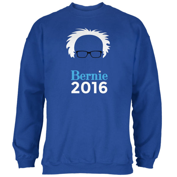 Election 2016 Bernie Sanders Hair Minimalist Royal Adult Sweatshirt