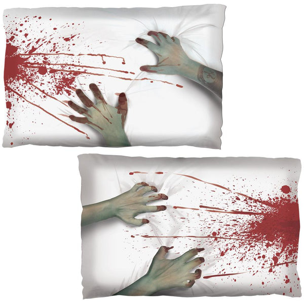 Halloween Zombie Bloody Attack Pillow Case Set