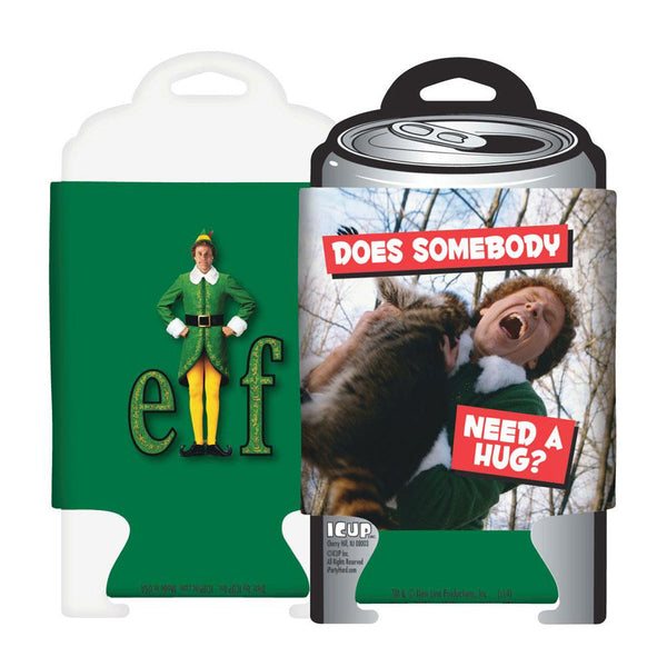 Elf - Need a Hug Can Cooler