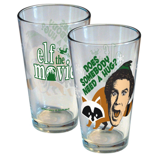 Elf - Need a Hug Pint Glass