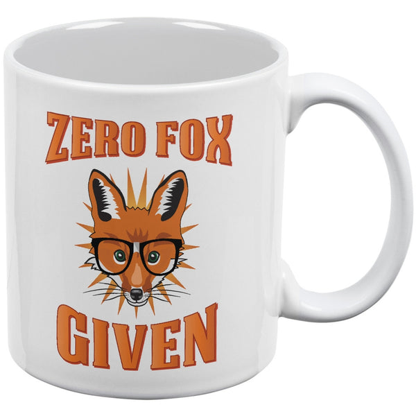 Zero Fox Given White All Over Coffee Mug