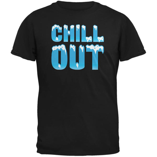 Chill Out Black Adult T-Shirt