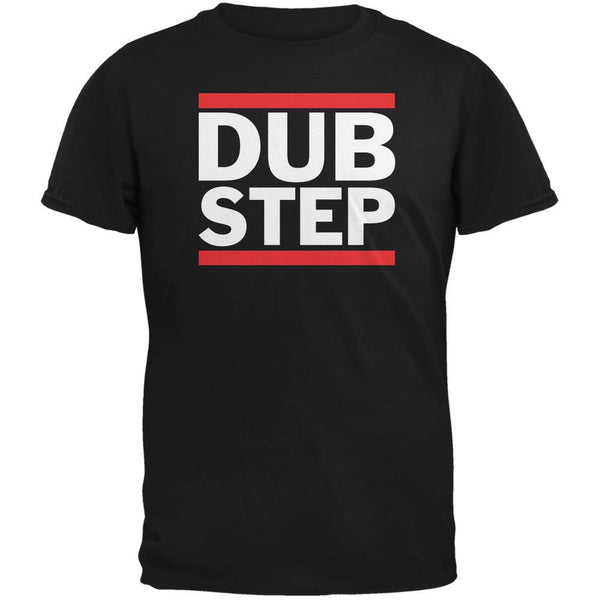 Dub Step Black Adult T-Shirt