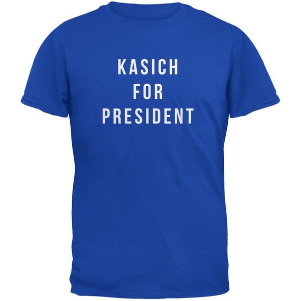 Election 2016 Kasich For President Royal Adult T-Shirt