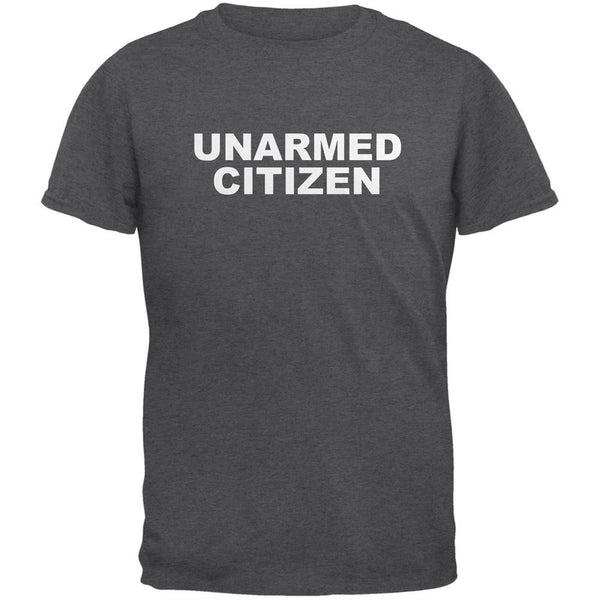 Ferguson Unarmed Citizen Dark Heather Adult T-Shirt