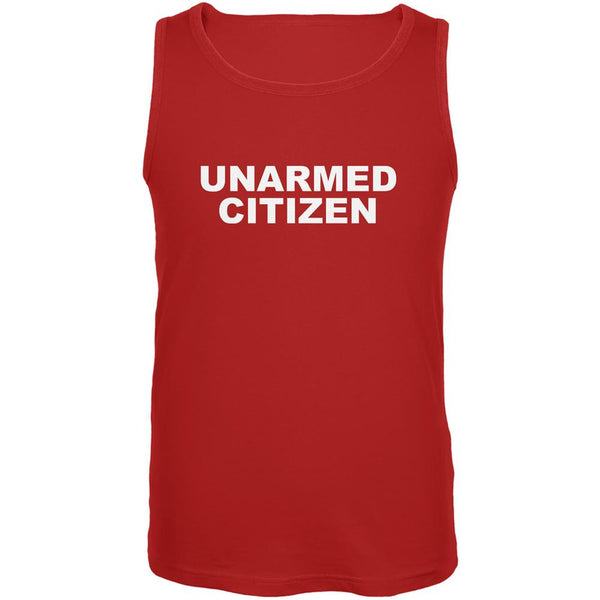 Ferguson Unarmed Citizen Red Adult Tank Top