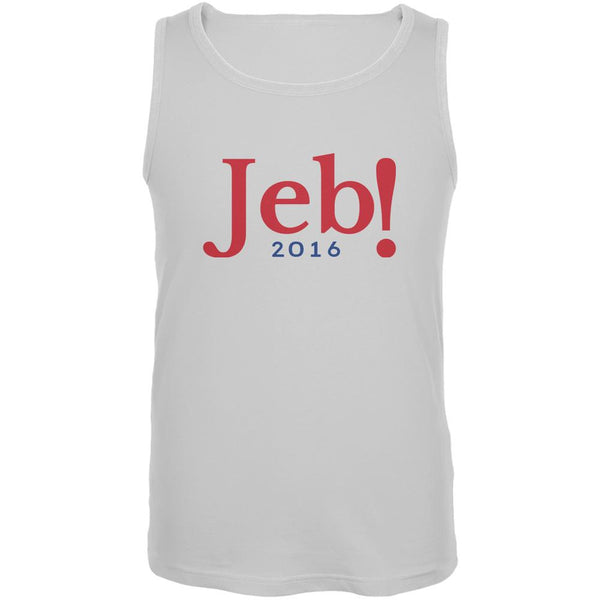 Election 2016 Jeb Bush Jeb! 2016 White Adult Tank Top