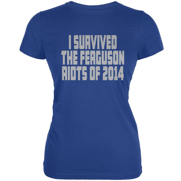 Ferguson I Survived The Riot 2014 Royal Juniors Soft T-Shirt