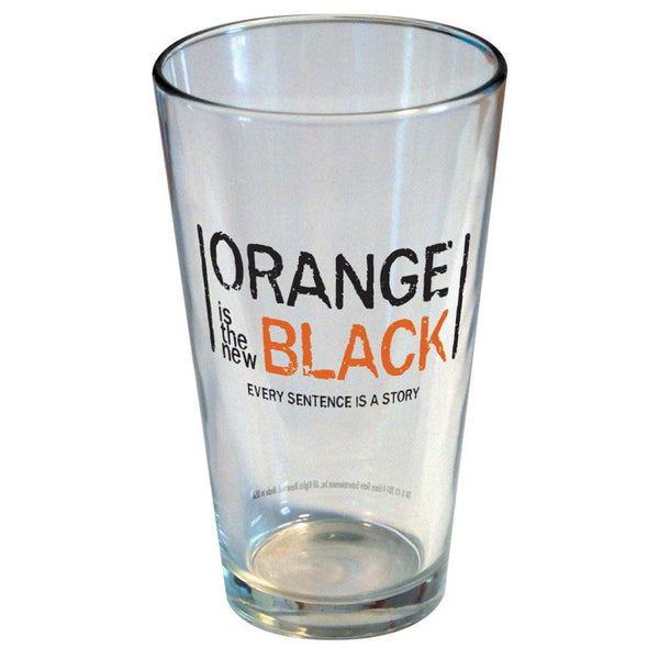 Orange Is The New Black - Logo Pint Glass