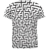 Maze All Over Adult T-Shirt