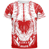 Lion Skull All Over Adult T-Shirt