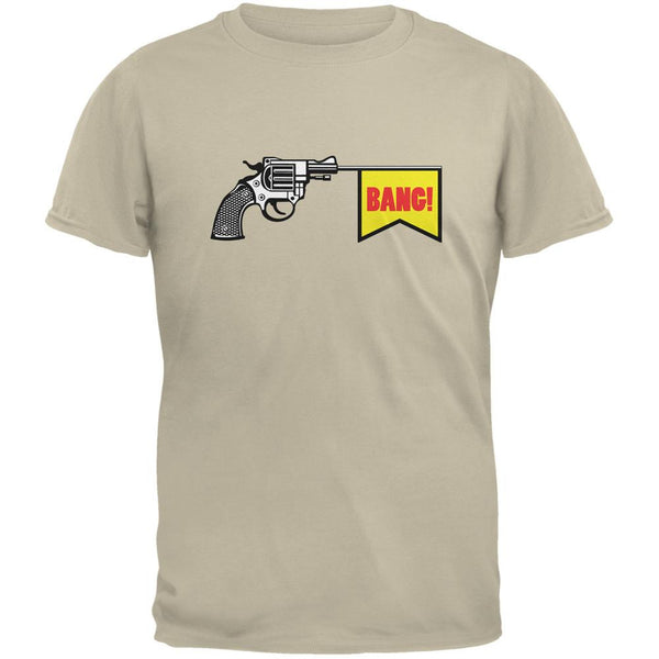 Revolver Bang Sand Adult T-Shirt