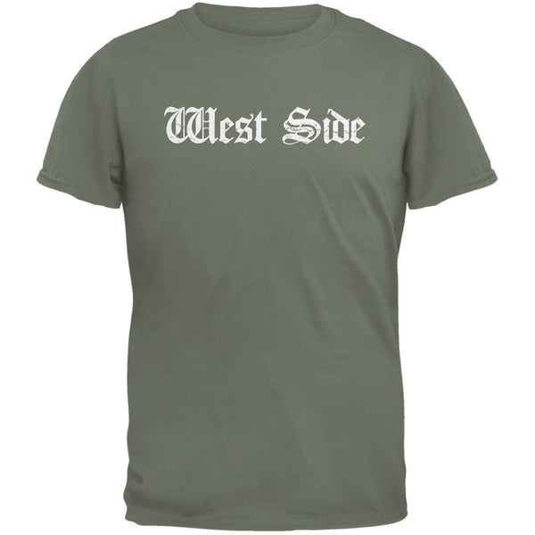 West Side Military Green Adult T-Shirt