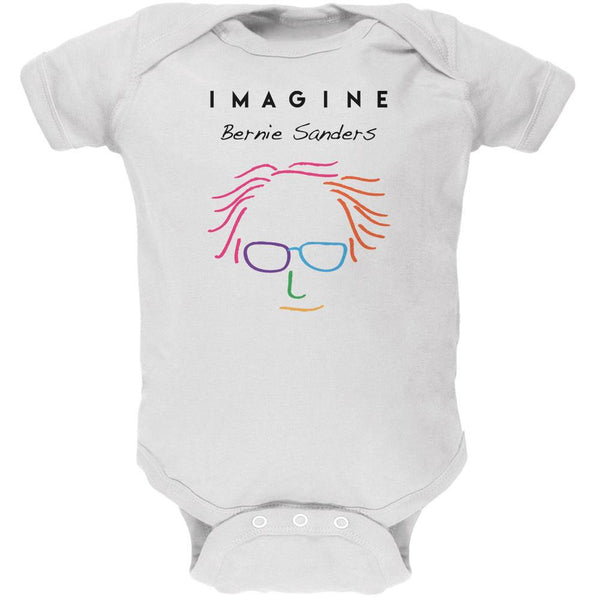 Election 2016 Bernie Sanders Imagine White Soft Baby One Piece