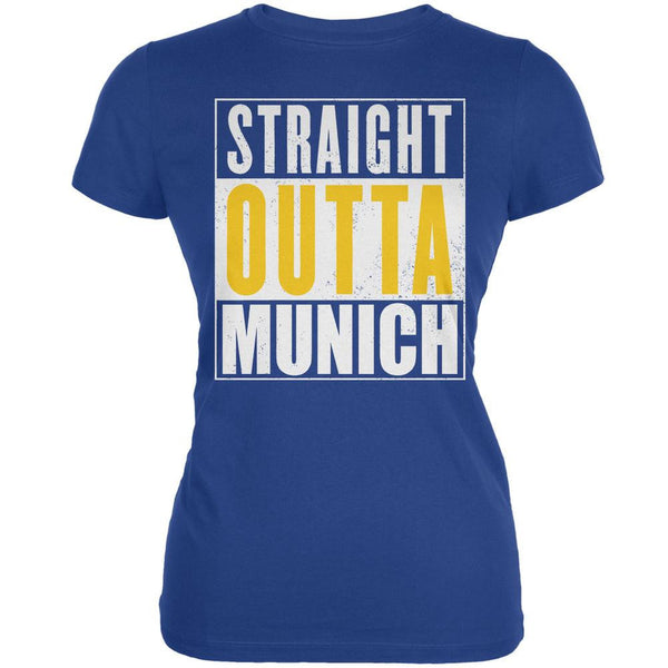 Oktoberfest - Straight Outta Munich Royal Juniors Soft T-Shirt