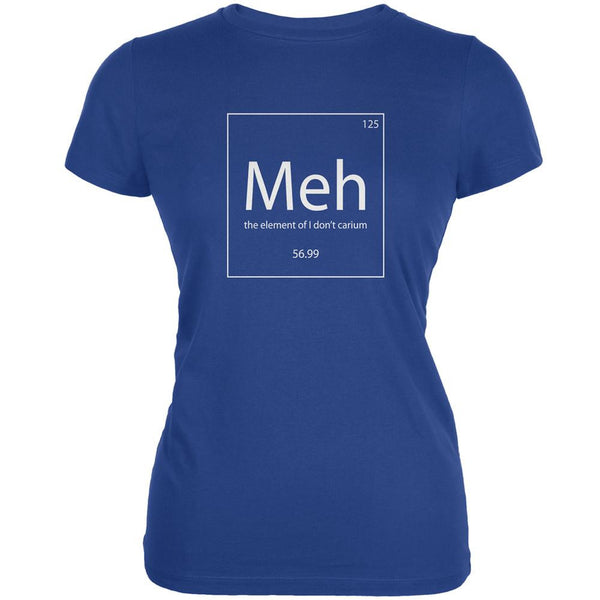 Meh Periodic Table Royal Juniors Soft T-Shirt