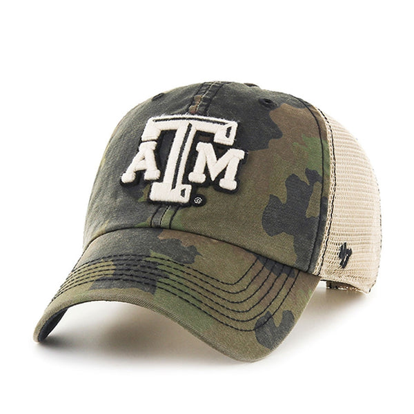 Texas A Aggies - Logo Burnett Clean Up Adjustable Trucker Cap