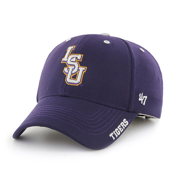 LSU Tigers - Logo Purple Condenser MVP Adjustable Baseball Cap