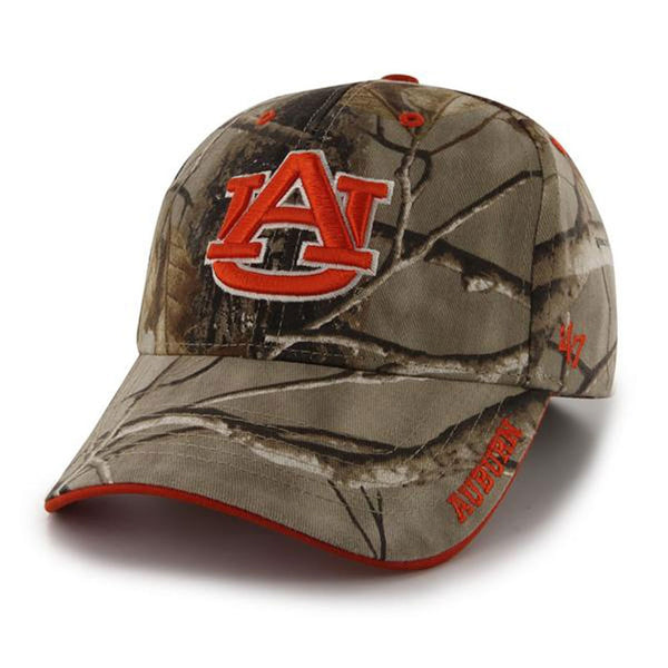 Auburn Tigers - Logo Realtree Frost MVP Adjustable Baseball Cap