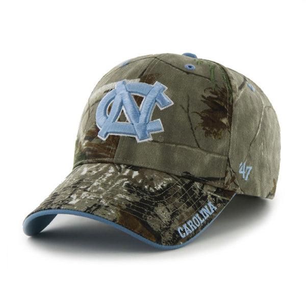 North Carolina Tar Heels - Logo Realtree Frost MVP Adjustable Baseball Cap