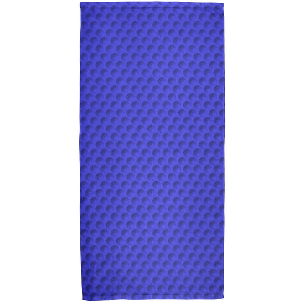 Halloween Golf Ball Costume Blue All Over Bath Towel