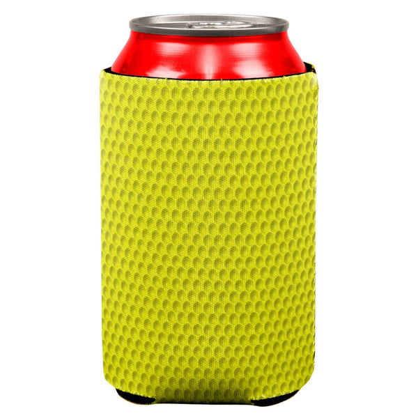 Golf Ball Costume Yellow All Over Can Cooler