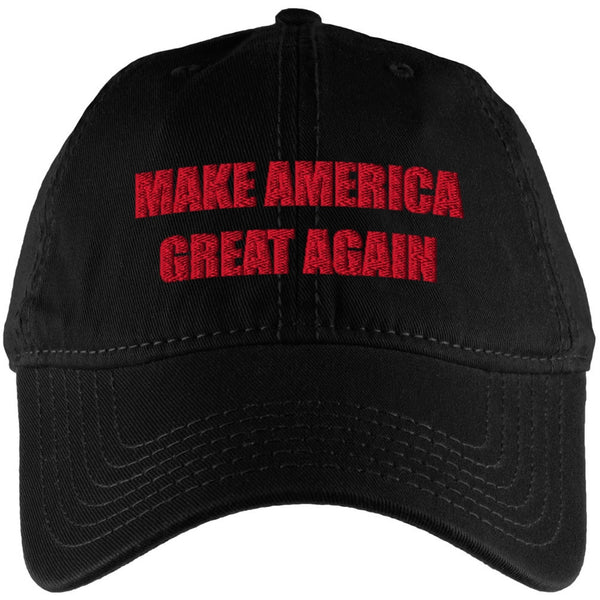 Election 2016 Donald Trump Make America Great Black Adjustable Cap
