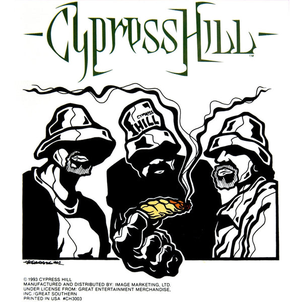 Cypress Hill - Fatty Decal