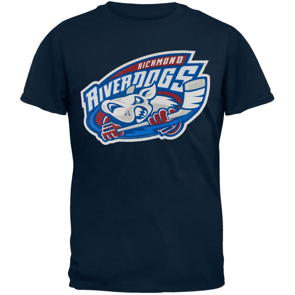 Richmond Riverdogs - Logo Navy Blue Youth T-Shirt
