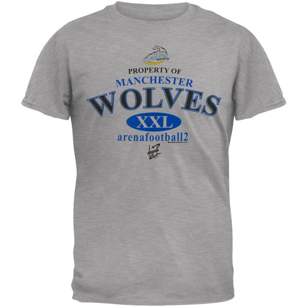 Manchester Wolves - Property Of Grey Adult T-Shirt