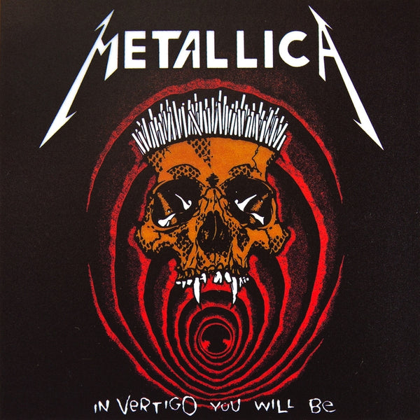 Metallica - In Vertigo You Will Be - Cling-On Sticker