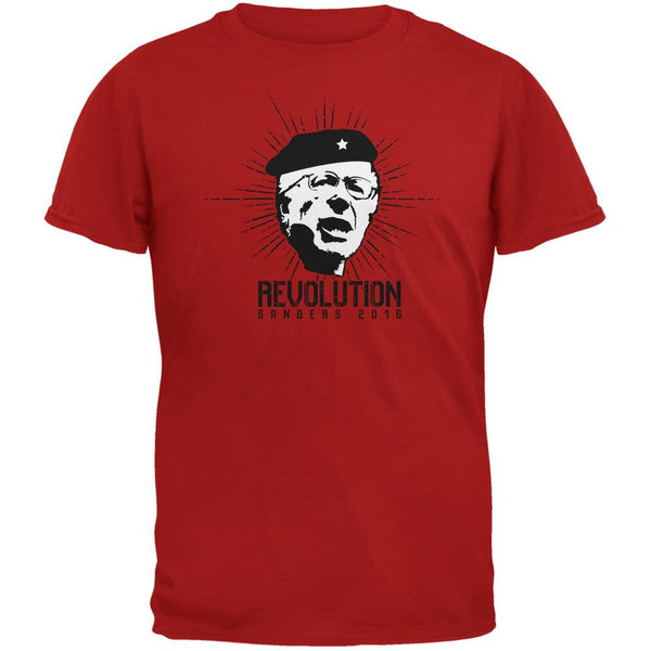 Election 2016 Bernie Sanders Che Guevara Parody Red Youth T-Shirt