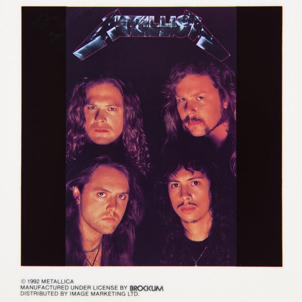 Metallica - Band Faces Cling-On Sticker