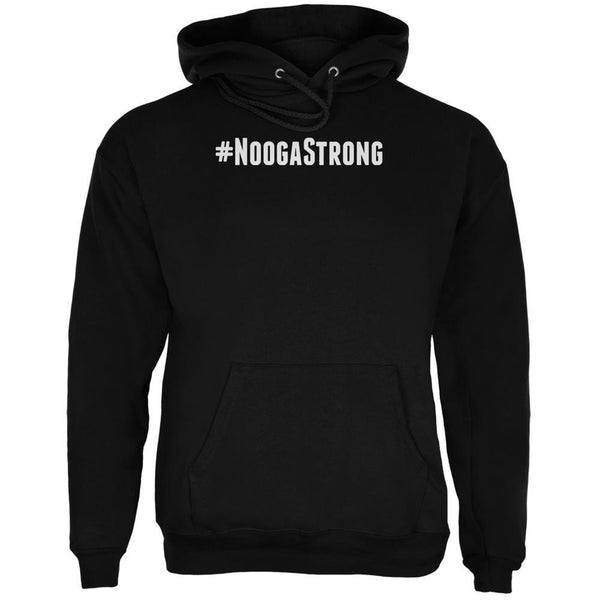 Hashtag #NoogaStrong Black Adult Hoodie