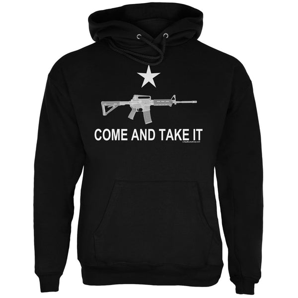 AR-15 Come and Take It Black Adult Hoodie