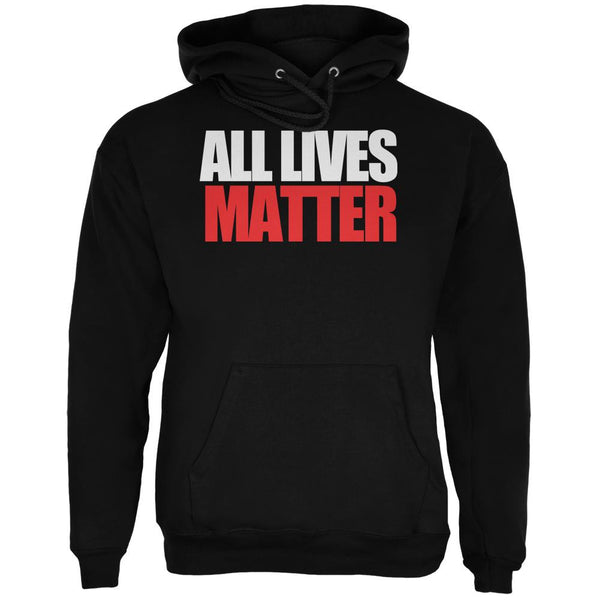 All Lives Matter Black Adult Hoodie