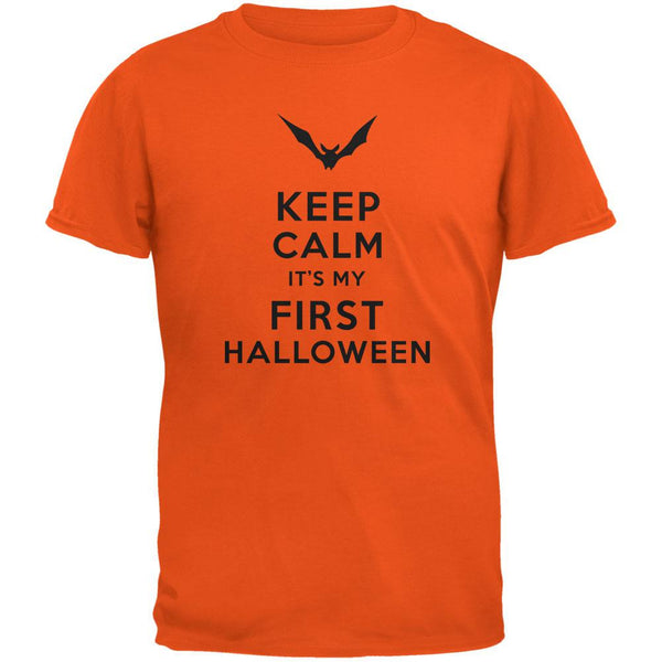 Halloween - Keep Calm My First Halloween Orange Youth T-Shirt