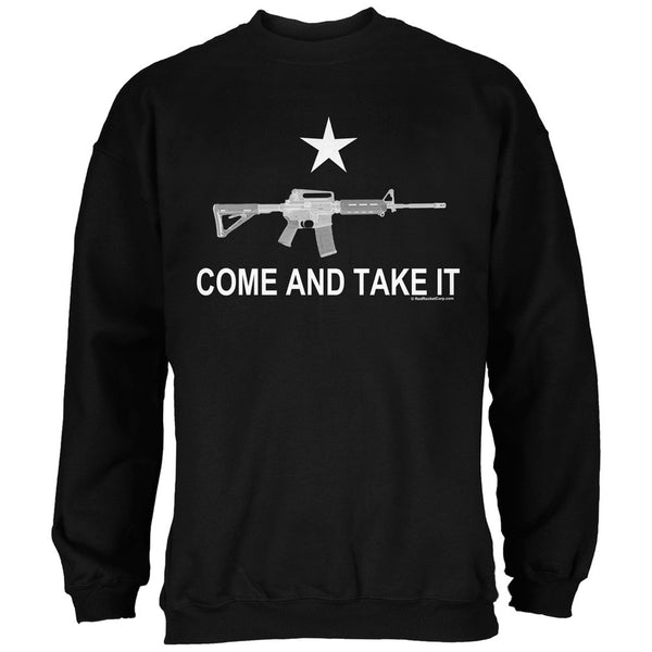 AR-15 Come and Take It Black Adult Sweatshirt