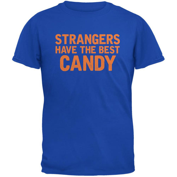 Halloween Strangers Have The Best Candy Royal Adult T-Shirt
