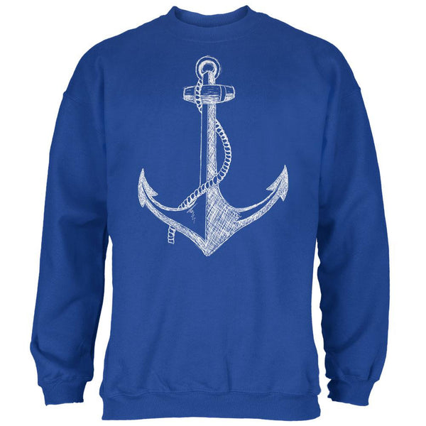 Summer Anchor Royal Adult Sweatshirt