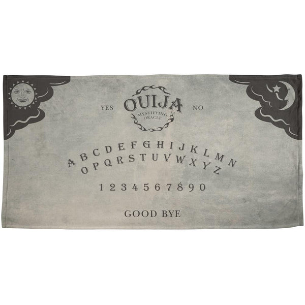 Halloween Ouija Board All Over Beach Towel