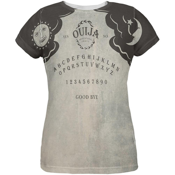 Halloween Ouija Board Costume All Over Womens T-Shirt