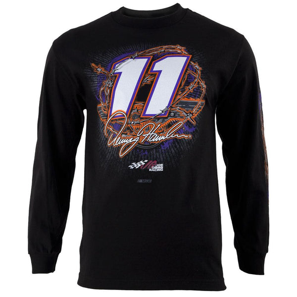 Denny Hamlin - 11 Gear Up Adult Long Sleeve T-Shirt