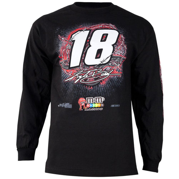 Kyle Busch - 18 Gear Up Adult Long Sleeve T-Shirt