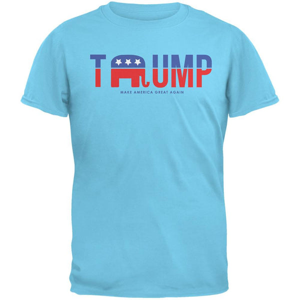Election 2016 Trump Make America Great Again Sky Adult T-Shirt