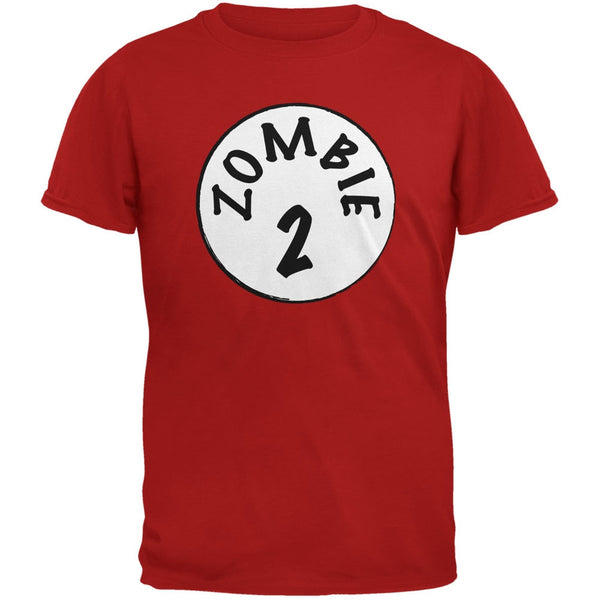 Halloween Zombie 2 Two Costume Red Youth T-Shirt