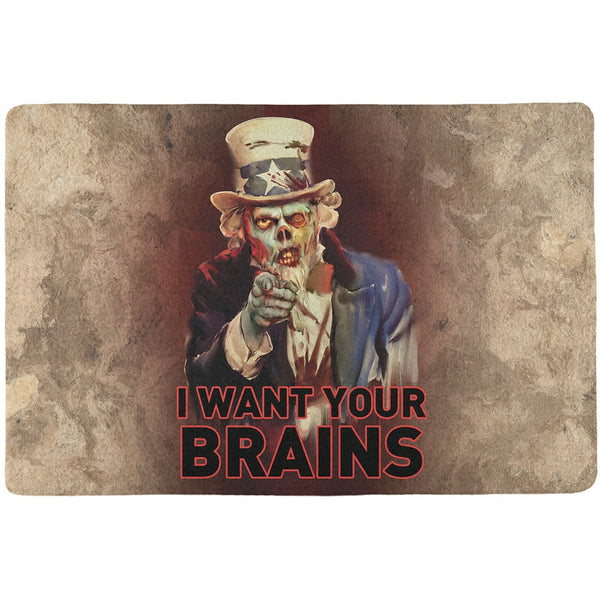 Halloween Zombie Uncle Sam All Over Placemat