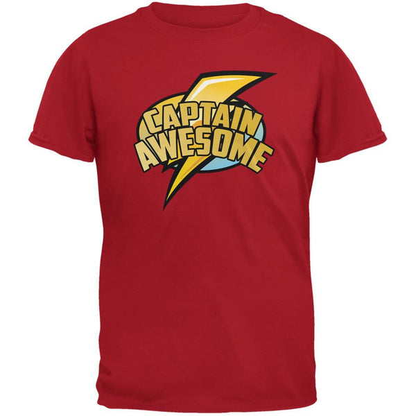 Captain Awesome Red Youth T-Shirt