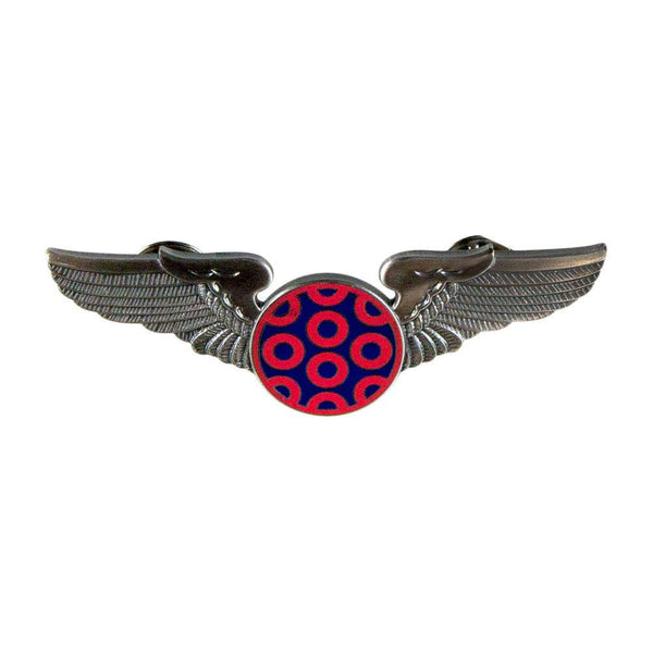 Phish - Fishman Donut Large Pilot Pin